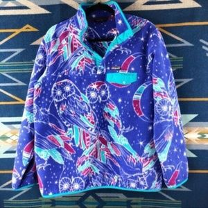 PATAGONIA SYNCHILLA OWLS PULLOVER AB026